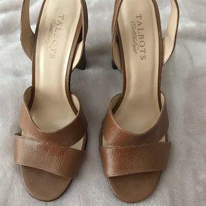 Talbots heeled sandals. Fit like a 7.